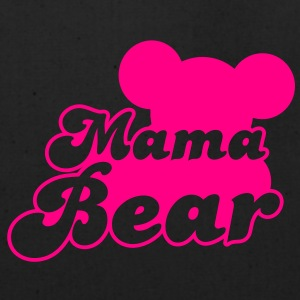 MAMA bear (new) with teddy bear shape  Women's T-Shirts - Eco-Friendly Cotton Tote