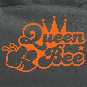Queen bee ornate with cute little insect and a princess crown Women's T-Shirts - Computer Backpack