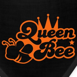 Queen bee ornate with cute little insect and a princess crown Women's T-Shirts - Bandana