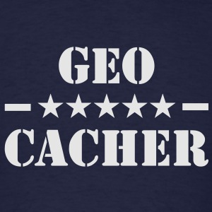 Geocacher Hoodie - Men's T-Shirt