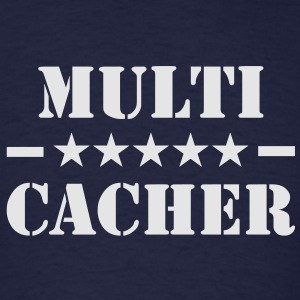 Multi-Cacher Hoodie - Men's T-Shirt