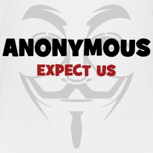 Anonymous Kids' Shirts - Toddler Premium T-Shirt