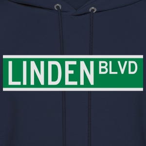 LINDEN BLVD SIGN T-Shirts - Men's Hoodie