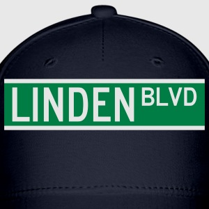 LINDEN BLVD SIGN T-Shirts - Baseball Cap