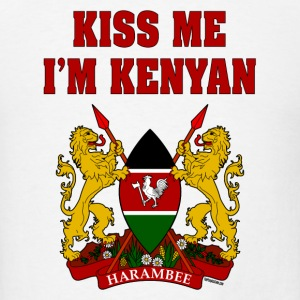 Kiss Me, I'm Kenyan - Men's T-Shirt