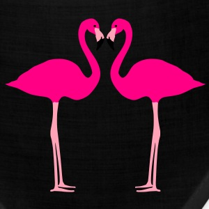 Flamingos, Flamingo Heart Women's T-Shirts - Bandana