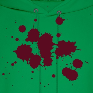 Splatter HD VECTOR T-Shirts - Men's Hoodie