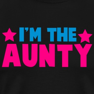 new i'm the aunty aunt with cute little stars Tanks - Men's Premium T-Shirt