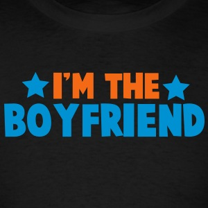 new i'm the boyfriend family label design Tanks - Men's T-Shirt