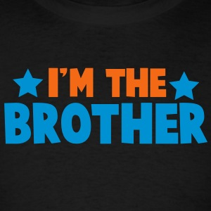 new i'm the brother family label design Tanks - Men's T-Shirt