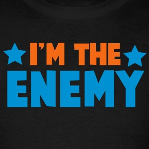i'm the enemy with stars family label design Tanks - Men's T-Shirt