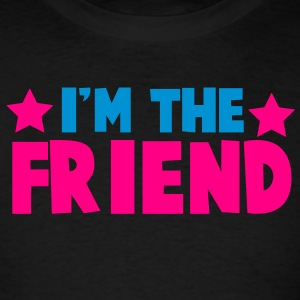 new i'm the friend family label design Tanks - Men's T-Shirt