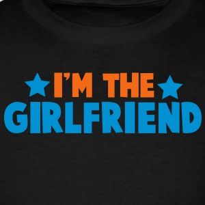 new i'm the girlfriend family label design Tanks - Men's T-Shirt