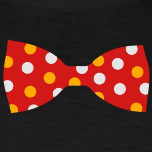 A bow tie with dots Long Sleeve Shirts - Men's T-Shirt