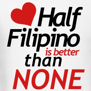 Half Filipino - Men's T-Shirt
