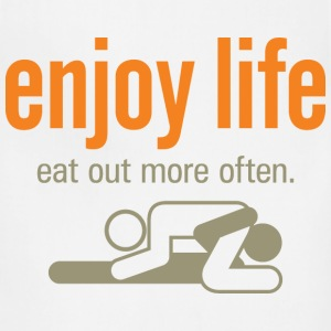 Enjoy Life 6 (dd)++ Hoodies - Adjustable Apron
