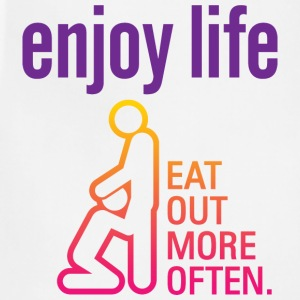 Enjoy Life 3 (dd)++ Hoodies - Adjustable Apron
