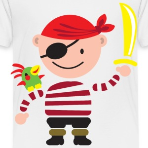 little pirate Kids' Shirts - Toddler Premium T-Shirt