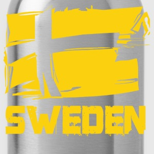 cool swedish viking - Water Bottle