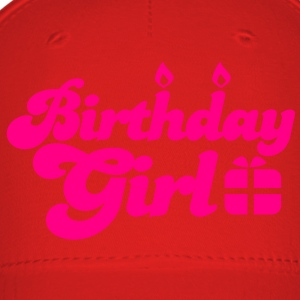 birthday girl new with present Long Sleeve Shirts - Baseball Cap