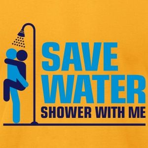 Save Water 2 (2c)++ Bags  - Men's T-Shirt by American Apparel