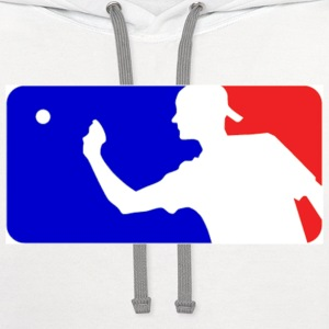 Major League Beer Pong Logo T-Shirts - Contrast Hoodie