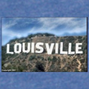 Louisville Goes Hollywood - Unisex Lightweight Terry Hoodie