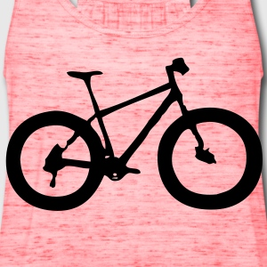 bike T-Shirts - Women's Flowy Tank Top by Bella