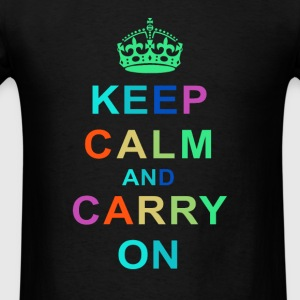 Keep Calm and Carry On Tee - Men's T-Shirt
