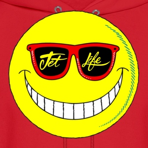 Jet Life Smiley Tee - Men's Hoodie