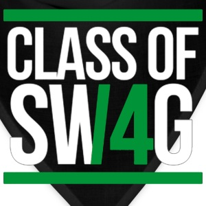 CLASS OF SWAG (2014) Green with bands T-Shirts - Bandana