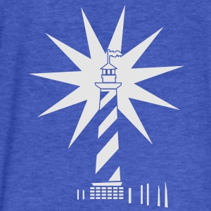 lighthouse lit (1c) Sweatshirts - Fitted Cotton/Poly T-Shirt by Next Level
