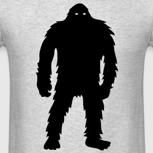 Bigfoot (Black) - Long Sleeve - Men's T-Shirt