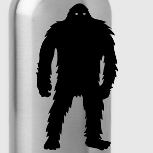 Bigfoot (White) - Polo Shirt - Water Bottle