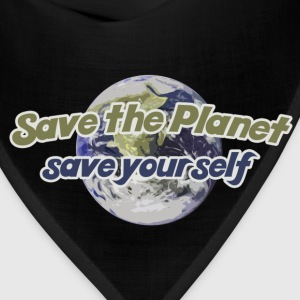 Save the Planet - Bandana