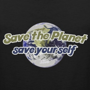 Save the Planet - Men's Premium Tank