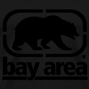 BAY AREA - BORN AND RAISED - Men's Premium T-Shirt