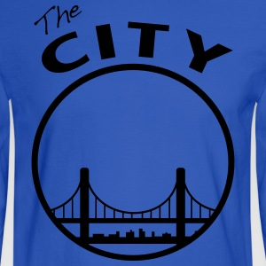 The CIty - San Francisco - bay Area - Men's Long Sleeve T-Shirt