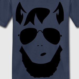 wolf man funky trendy face Kids' Shirts - Toddler Premium T-Shirt