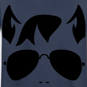 wolf man face in funky sunnies and wolfy ears Kids' Shirts - Toddler Premium T-Shirt