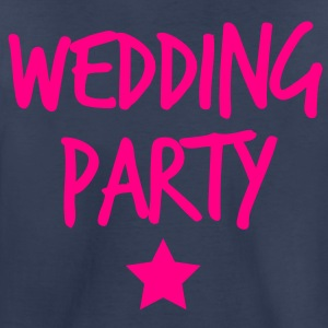 wedding party new funky and with a star Kids' Shirts - Toddler Premium T-Shirt
