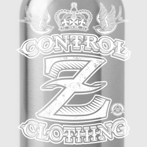 All Over Tattoo Design by Control Z Clothing T-Shirts - Water Bottle