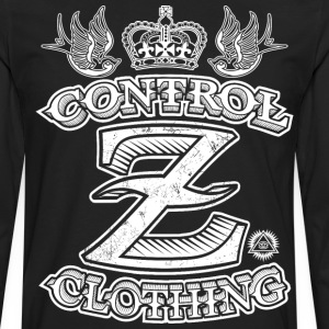 All Over Tattoo Design by Control Z Clothing T-Shirts - Men's Premium Long Sleeve T-Shirt
