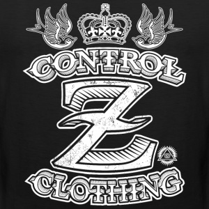 All Over Tattoo Design by Control Z Clothing T-Shirts - Men's Premium Tank