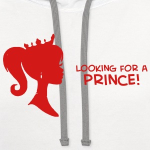 Looking For a Prince - Contrast Hoodie