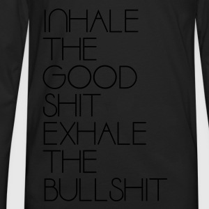 Inhale (HQ) - Men's Premium Long Sleeve T-Shirt
