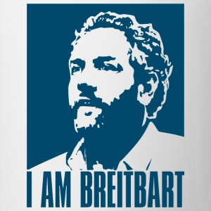 I am Breitbart - white - Coffee/Tea Mug