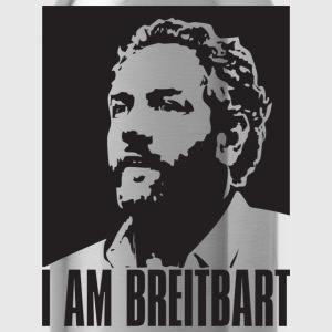 I am Breitbart - shirt, natural - Water Bottle