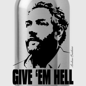 Breitbart - Give 'em Hell - natural - Water Bottle