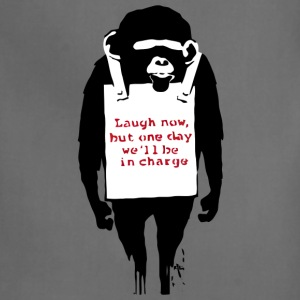 Banksy Laugh Now Monkey T-Shirts - Adjustable Apron